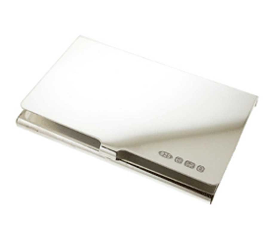 Sterling Silver Business Card Case   TheOnlineGiftsCompany.com