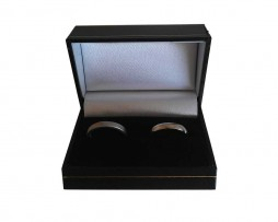 Black Double Ring Box