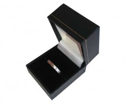 Black Single Ring Box