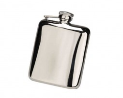 Steel Cushion Hip Flask