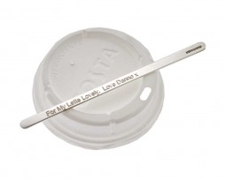 Silver Coffee Stirrer