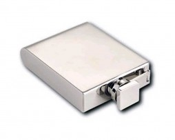 Art Deco 5oz Hip Flask