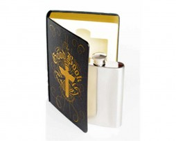 The Good Book - Hip Flask in a Book