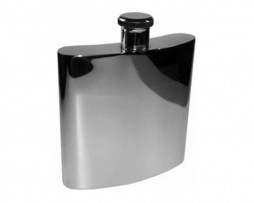 GIANT 26oz Pewter Hip Flask