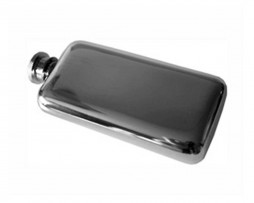 3oz Purse Hip Flask Plain