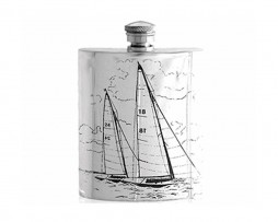 Sailing Hip Flask