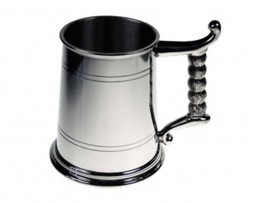 Cernummos Decorated Viking Pewter Tankard