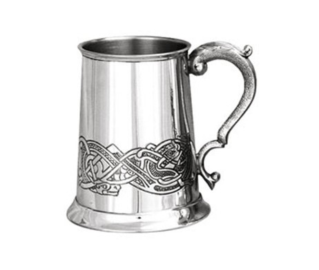 Celtic Pewter Tankard