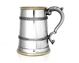 Kells Golden One Pint Pewter Tankard