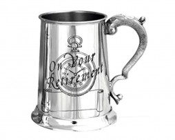'On Your Retirement' Pewter Tankard