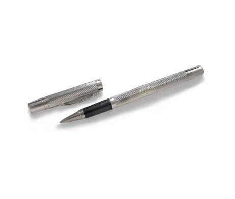 Earl Silver Lidded Rollerball Pen