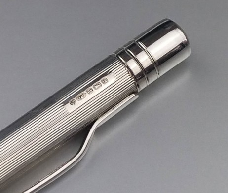 Silver Pen Engraving