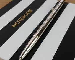 Personalised Silver Pen - Joe Mason Deluxe Silver Rollerball Pen. Luxury Personalised Pen In Hallmarked Sterling Silver. Free Engraving and Next Day UK Delivery!