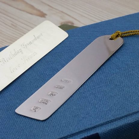 Personalised Sterling Silver Arch Bookmark - Gh_ArchBM