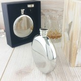 Ultimate Round Hip Flask With Free Engraving