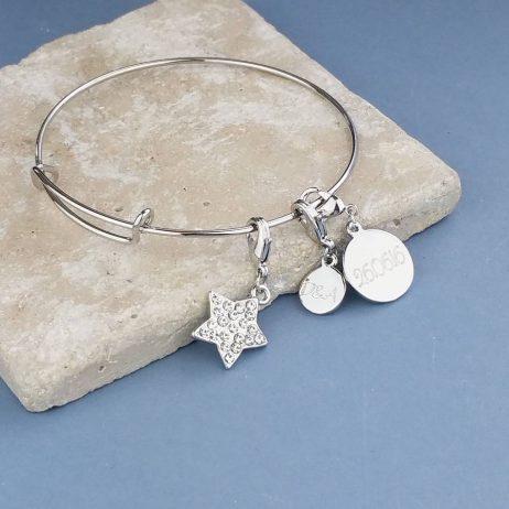 Personalised Teenage Charm Bracelet