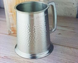 Personalised Tankard With Iridescent Sateen Finish