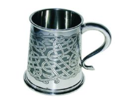 Personalised Celtic Knot Tankard