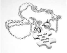 Silver Missing Piece Necklace