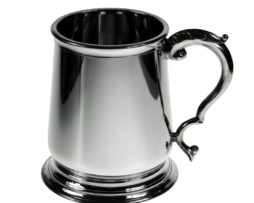 Personalised Premium Weight George III Pewter Tankard