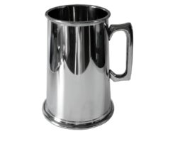 Personalised Four Pint Pewter Tankard