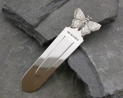 Bookmarks in Silver & Personalised