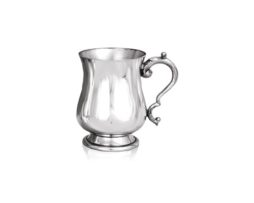 Personalised Half Pint Georgian Pewter Tankard