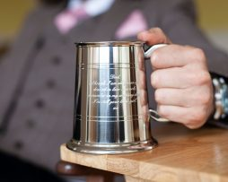 Tankards in Pewter & Personalised