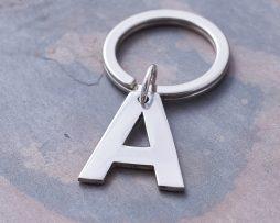 Keyrings in Silver & Personalised