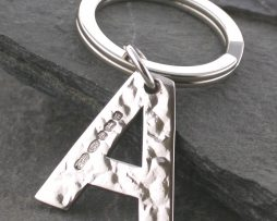 Keyrings in Silver & Personalised