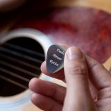 Personalised Silver Plectrum