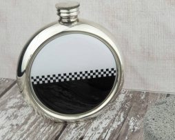 Engraved Ska Hip Flask